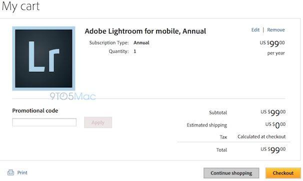 lightroom лайтрум для ipad