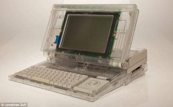 прозрачный macintosh portable