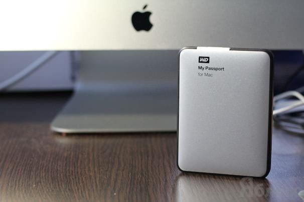 внешний USB накопитель my passport for mac western digital