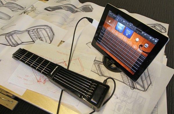 JamStik – миниатюрная беспроводная электрогитара