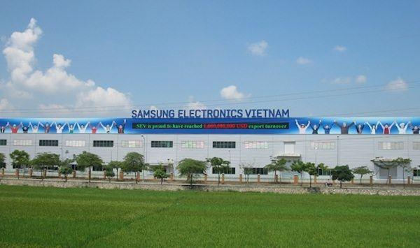 Samsung во Вьетнаме