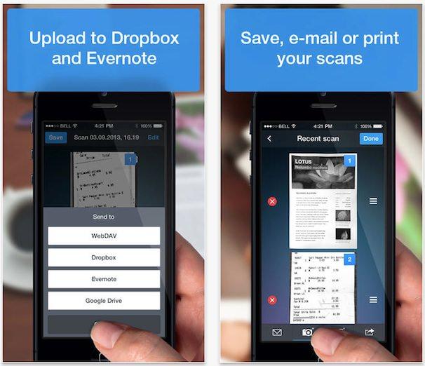 scanner pro сканер для iPhone и iPad