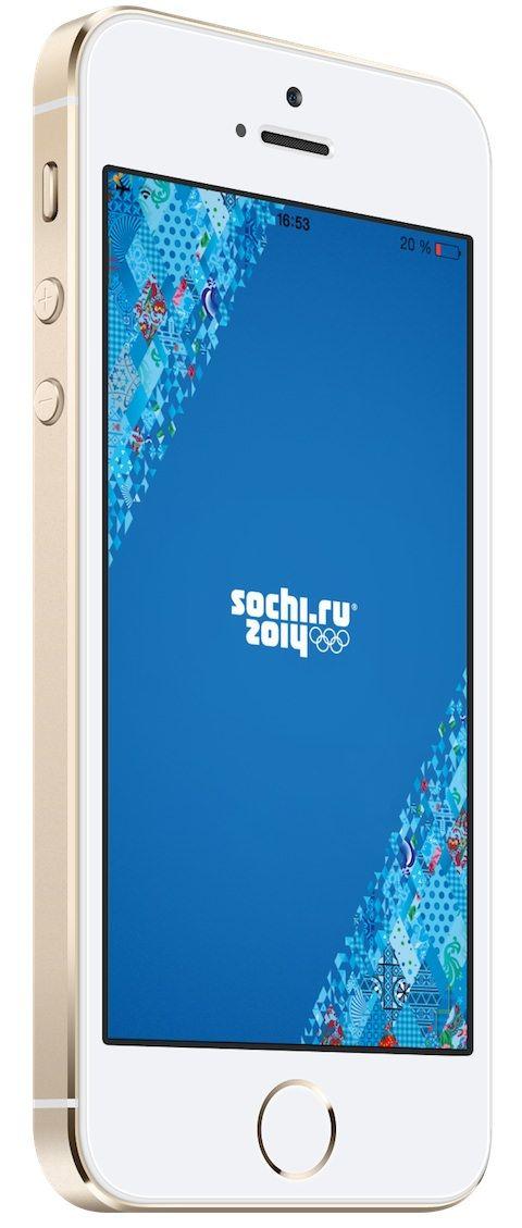 Сочи 2014 для iPhone и iPad