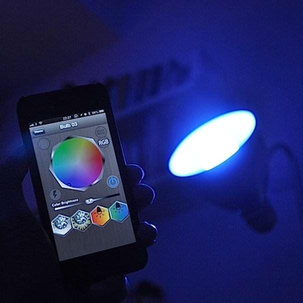 tabu led bulb лампочка, управляемая iphone