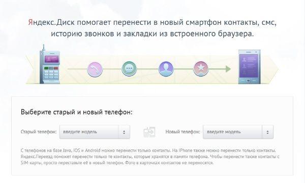 Яндекс Переезд
