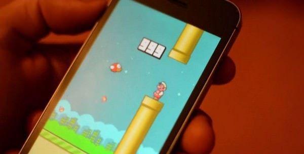 999 очков в игре Flappy Bird