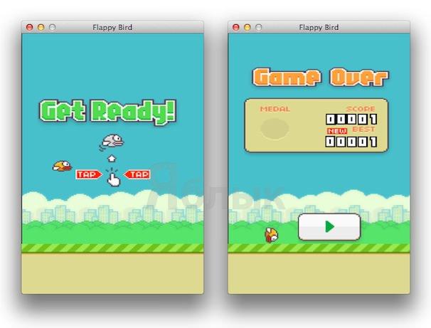 Скачать Flappy Bird для Mac OS X