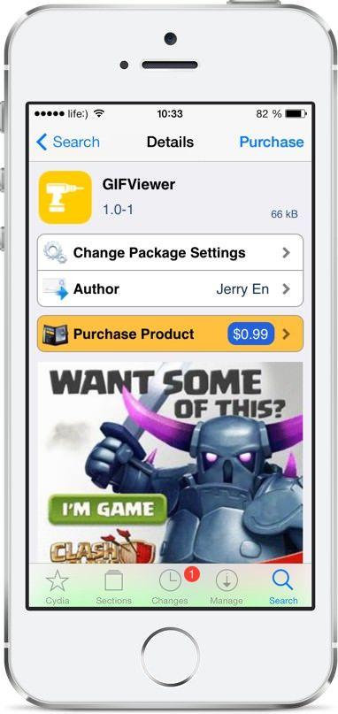 GIF на iPhone и iPad