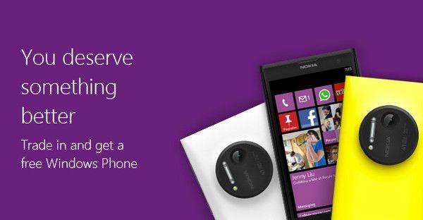 Microsoft предлагает обменять смартфоны iPhone