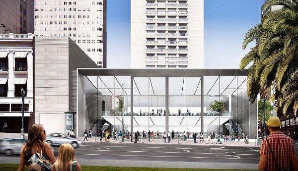 Новый Apple Store в Сан-Франциско