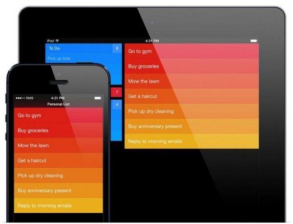 скачать приложение Clear для iOS 7