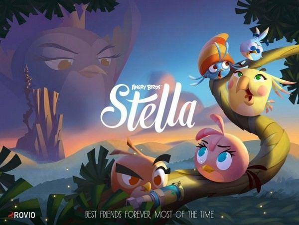 Rovio представила Angry Birds Stella