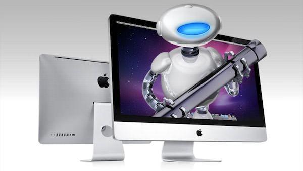 Automator постер с iMac
