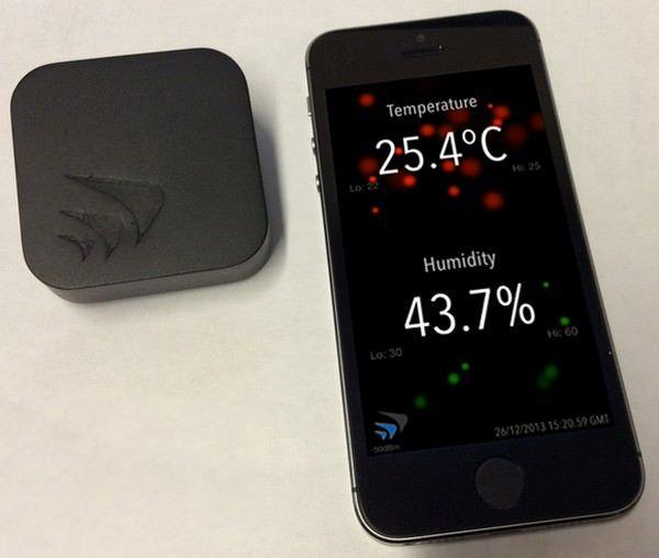 датчик важности и температуры для iPhone