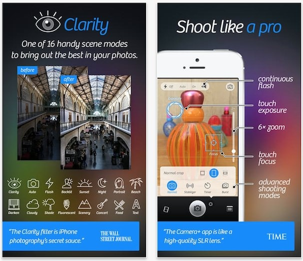 camera + для iPhone и iPad