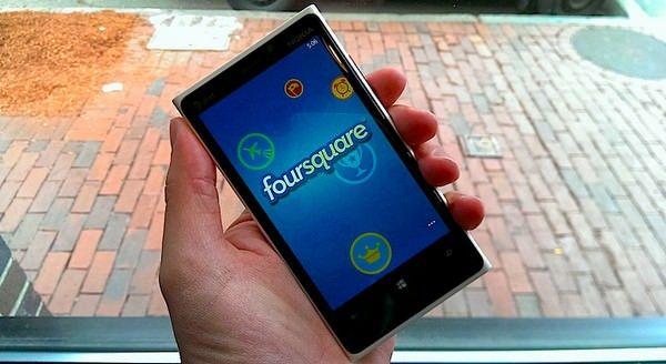 Microsoft приобрела акции Foursquare