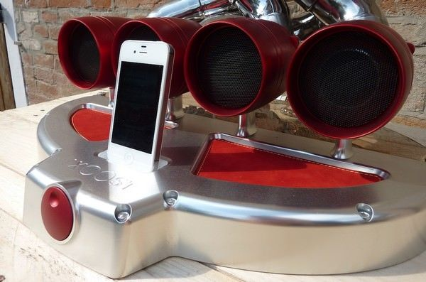 IXOOST - аудио док-станция для iPhone