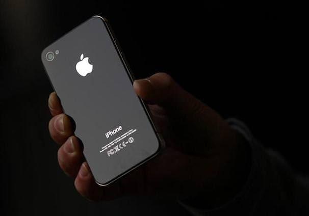 iPhone 4s логотип apple
