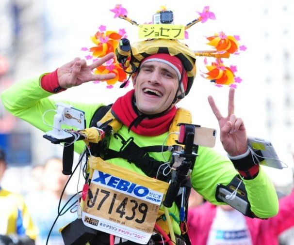 joseph tame марафон в Токио iruner