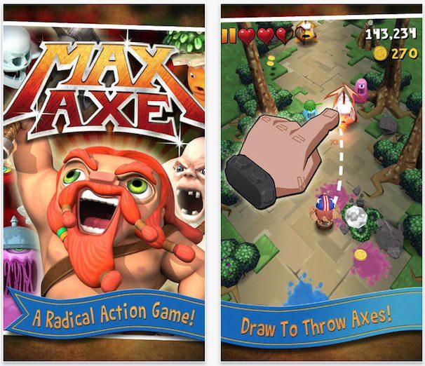 max axe для iphone ipad