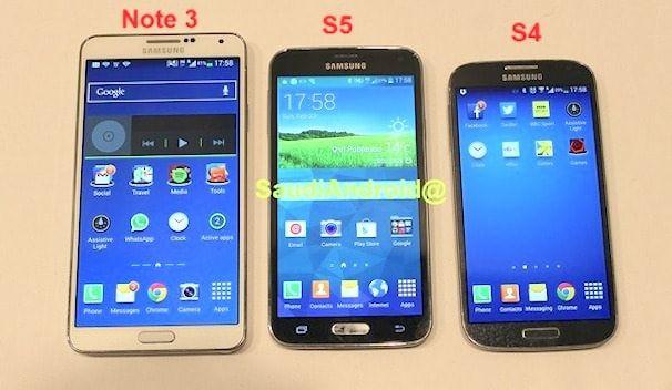 samsung galaxy S5 утечка