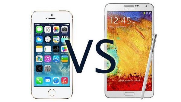 Samsung сравнивает Galaxy с iPhone и iPad