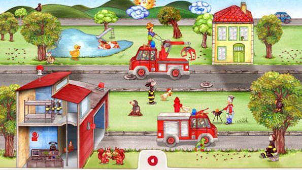 Маленькие пожарные для iPhone и iPad