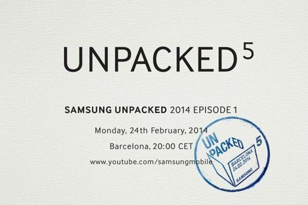 приглашения на официальную презентацию Galaxy S5