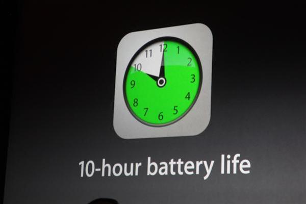 iPad Air время автономной работы