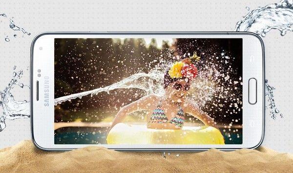 водонепроницаемость Samsung Galaxy S5