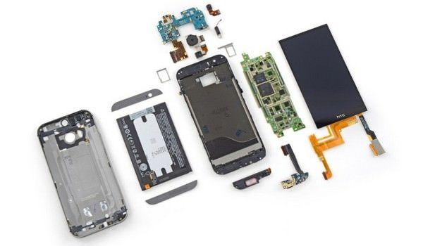 ремонтопригодность HTC One (M8)