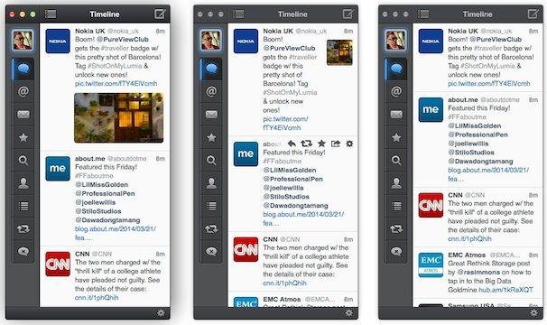 Tweetbot для Mac - размеры иконок