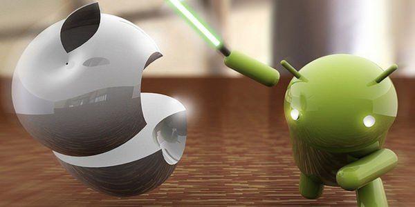 Android вдвое стабильнее iOS