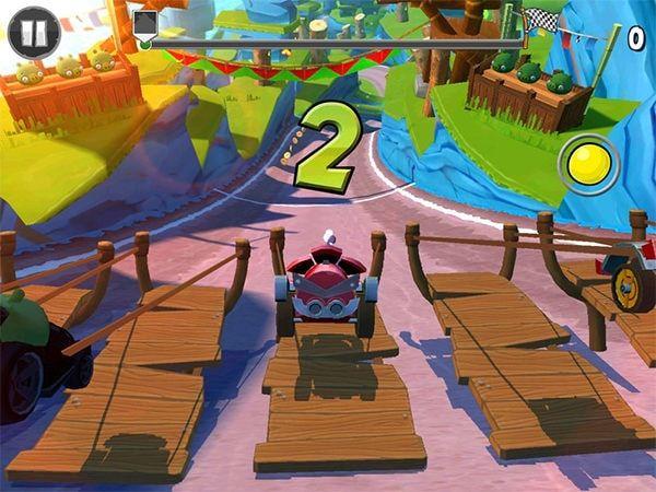 Angry Birds Go! старт
