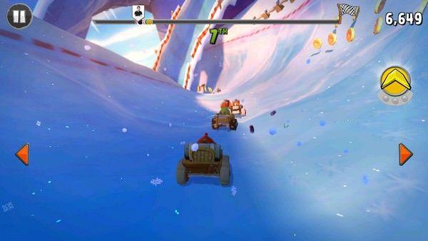 Обновленная игра Angry Birds Go! 1.2