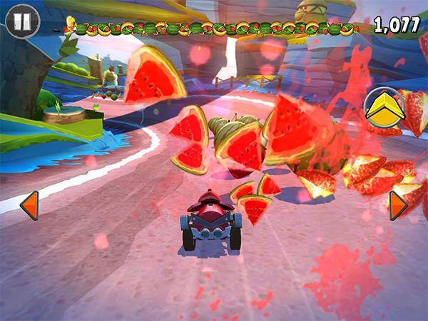 Angry Birds Go! двигайтесь по внутреннему радиусу
