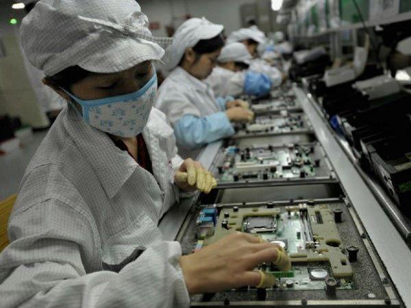 Человеческая работа на заводах Apple