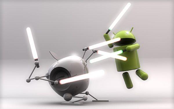 Противостояние Apple и Android
