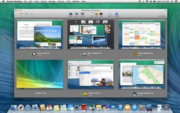 обновленная утилита Apple Remote Desktop