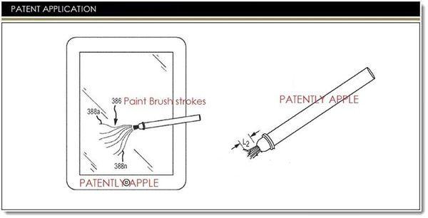 Патент стилуса от Apple