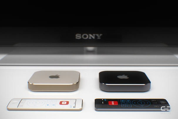 apple tv touch remote control concept yablyk