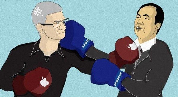 Apple требует от Samsung