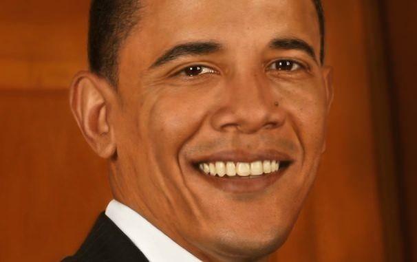 Барак Обама нарисованный на iPad