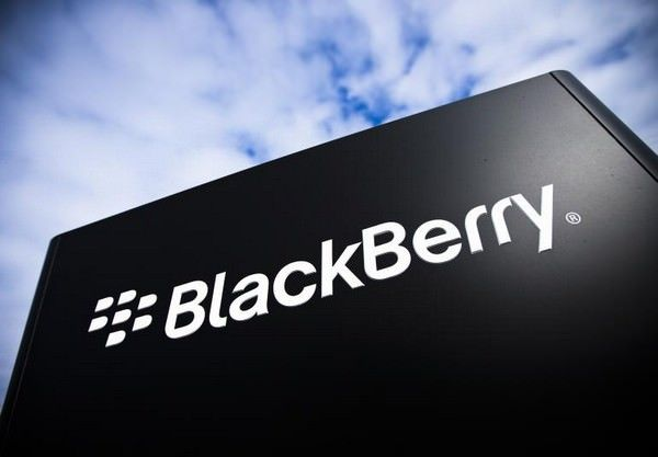 Квартальная выручка BlackBerry