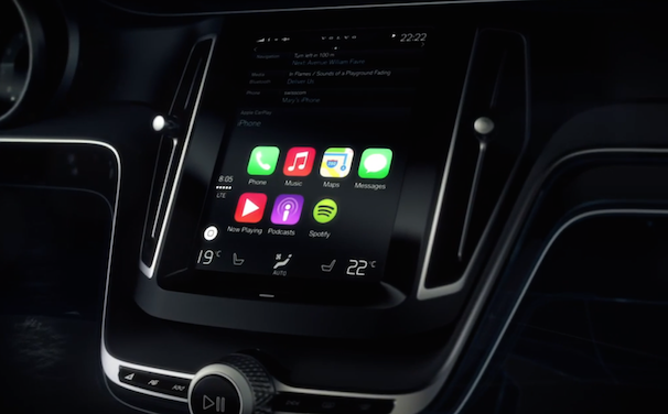 carplay apple volvo