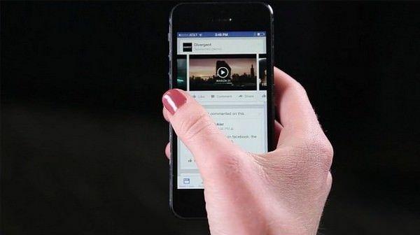 FaceBook тестирует видеорекламу