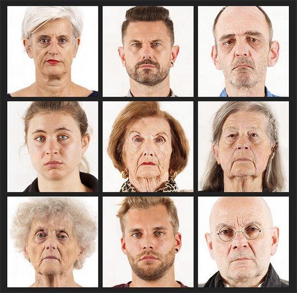 Фотографии лица человека в 900 мп
