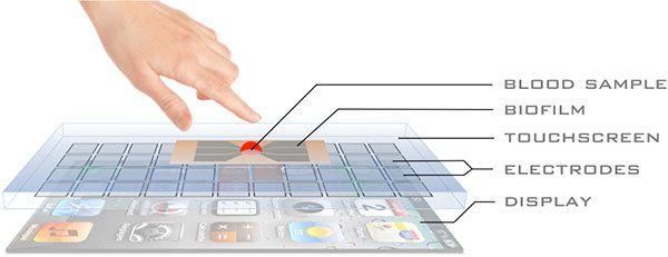 Обработка касаний экрана iPad