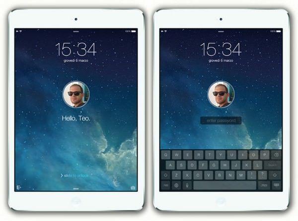 Концепт iOS 7 для iPad