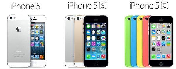 Одинаковые iPhone 5 5s 5c